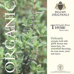 Thyme - Duchy Originals Organic Seeds