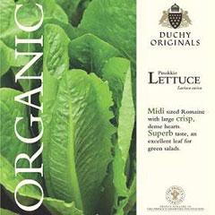 Lettuce Romaine - Duchy Originals Organic Seeds
