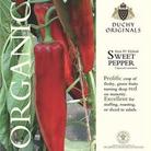 Sweet Pepper - Duchy Originals Organic Seeds