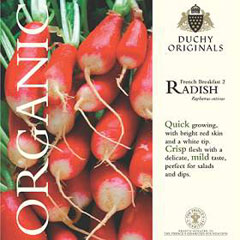 Radish - Duchy Originals Organic Seeds
