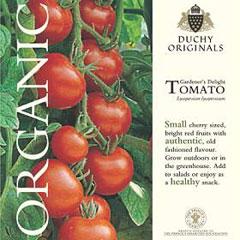Tomato Gardeners Delight - Duchy Originals Organic Seeds