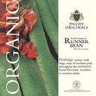 Runner Bean Scarlet Emperor - Duchy Originals Organic Seeds