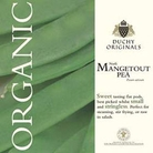 Pea Norli Mangetout - Duchy Originals Organic Seeds