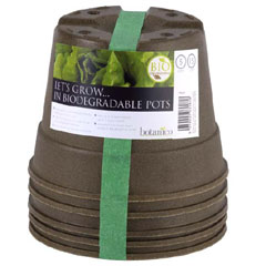 Biodegradable Pot 15cm - Set of 5