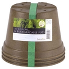 Biodegradable Pot 20cm - Set of 3