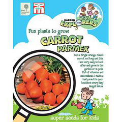 RHS Childrens Seeds - Carrot Parmex