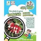 RHS Childrens Seeds - Radish French Breakfast