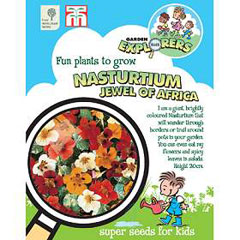 RHS Childrens Seeds - Nasturtium Jewel of Africa