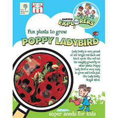 RHS Childrens Seeds - Poppy Ladybird