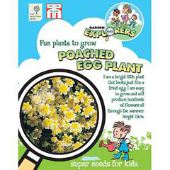 RHS Childrens Seeds - Poached Egg Plant