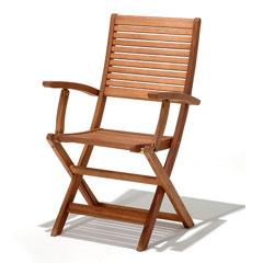Kingsbury FSC Folding Armchair