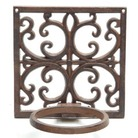 Cast Iron Flower Pot Holder