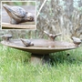 Cast Iron Birdbath