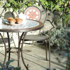 Mosaic Pattern Chair