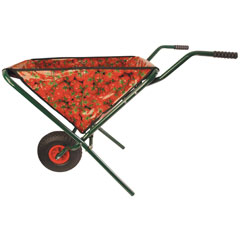 Tomato Design Folding Wheelbarrow