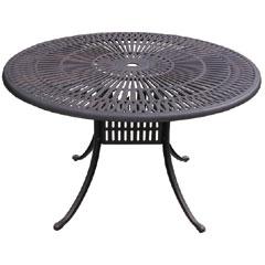 Stamford 120cm Round Cast Aluminium Table