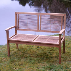 Chichester Teak 2 Seater Bench