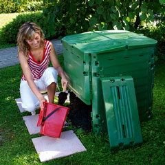 Thermo King 400 Litre Compost Bin