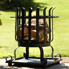 Small Round Fire Basket