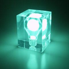 Glow Brick Light Bulb