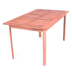Greenfingers Loreto 140cm Rectangular Table