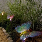 Solar Powered Butterfly - Set Of  Four