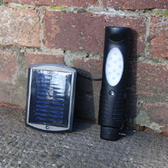 Shed and Torch Solar Light