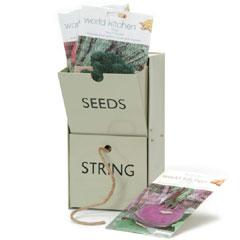 Seed & String Wall Storage Unit