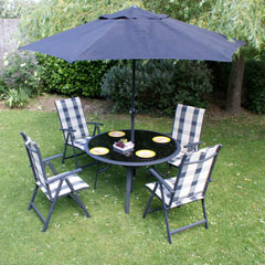 Grenada Table and 4 Chairs Set