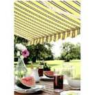 Sun awning windsor (yellow/grey/white)