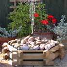 Water feature   pebble fountain