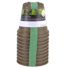 Biodegradable Pot 9cm - Set of 10