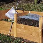 Lid for Modular Wooden Compost Bin