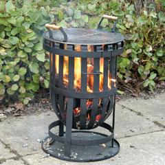 Moroccan Fire Basket