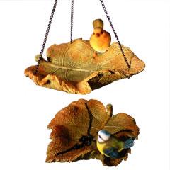Leaf Resin Bird Feeder