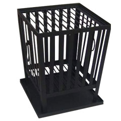 Square Fire Basket with Grill