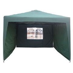 Greenfingers 3X3 Instant Pop Up Gazebo With 3 Side Panels