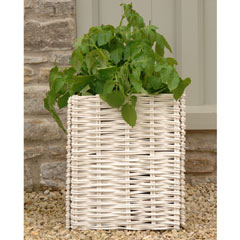 Burgon and Ball Willow Potato Planter With Planting Bag