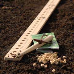 Burgon and Ball FSC Seed & Plant Spacing Rule