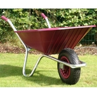 County Clipper Burgundy Wheelbarrow 90 Litre