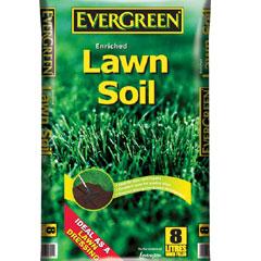 Evergreen Enriched Lawn Soil 8 Litre