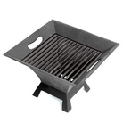 Greenfingers Square Fire Pit with Grill