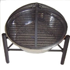 Greenfingers Round Stainless Steel Fire Pit