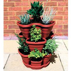 Tiered Strawberry Planter