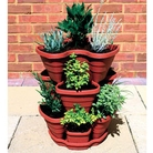 Tiered Strawberry Planter