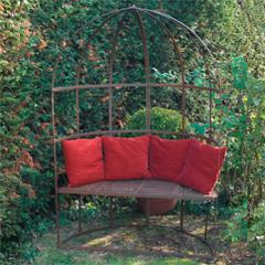Hinton Rustic Garden Arbour