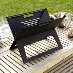Notebook Portable BBQ Grill-Small