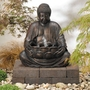Buddha Solar Fountain