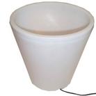 Solar Lit Flower Pot