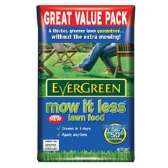 Evergreen Mow It Less Lawn Food 400 sq.m
